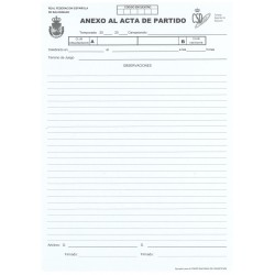 ANEXO ACTA OFICIAL RFEBM
